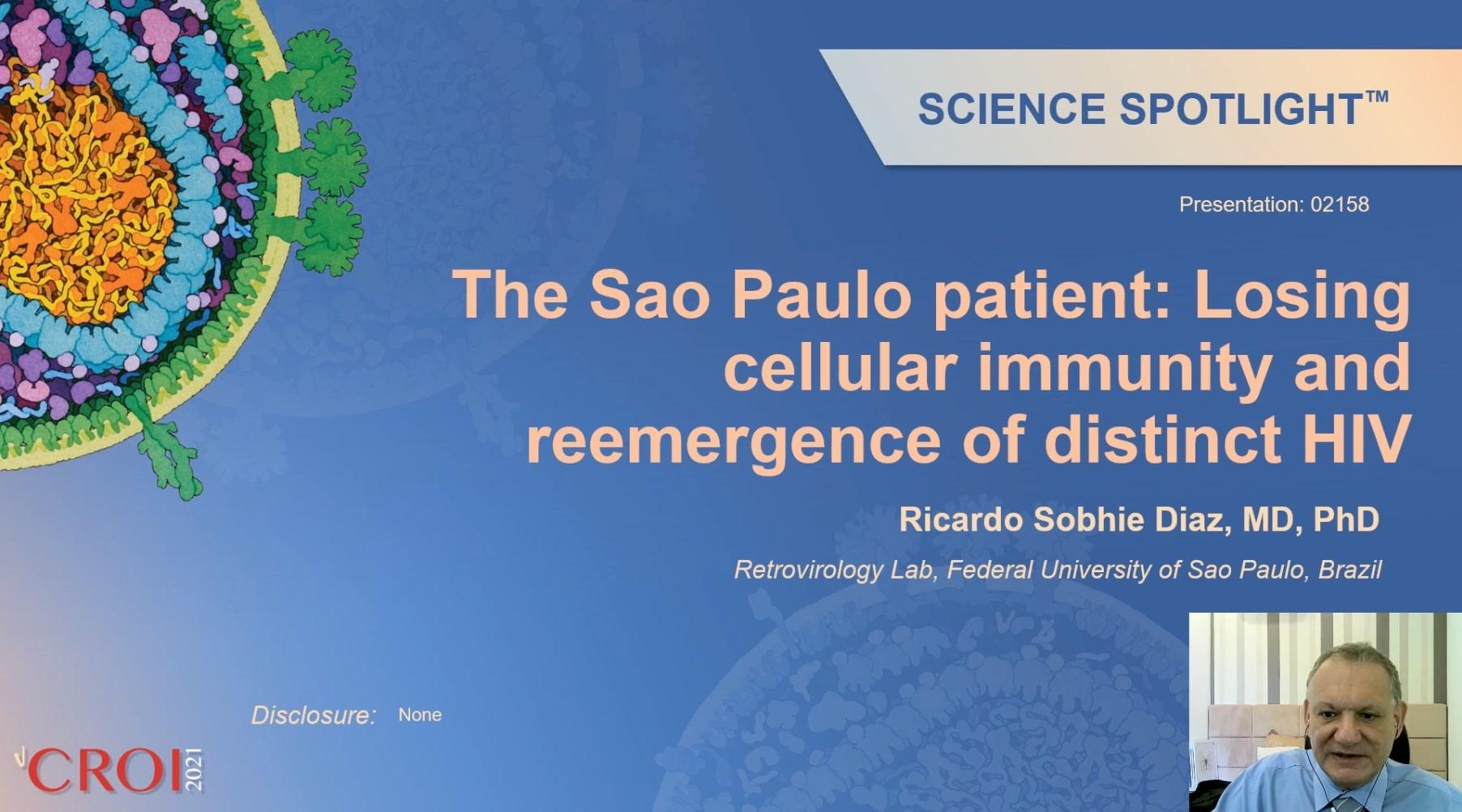 ВИЧ вернулся. Пациент из Сан-Паулу снова начал прием АРВ-терапии