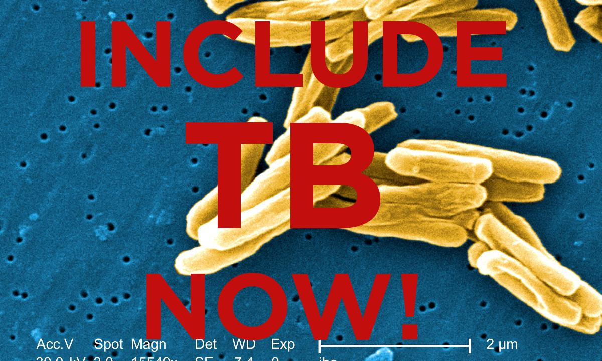 Petition: Include TB In The WHO Priority Pathogens List For R&D Of New Antibiotics