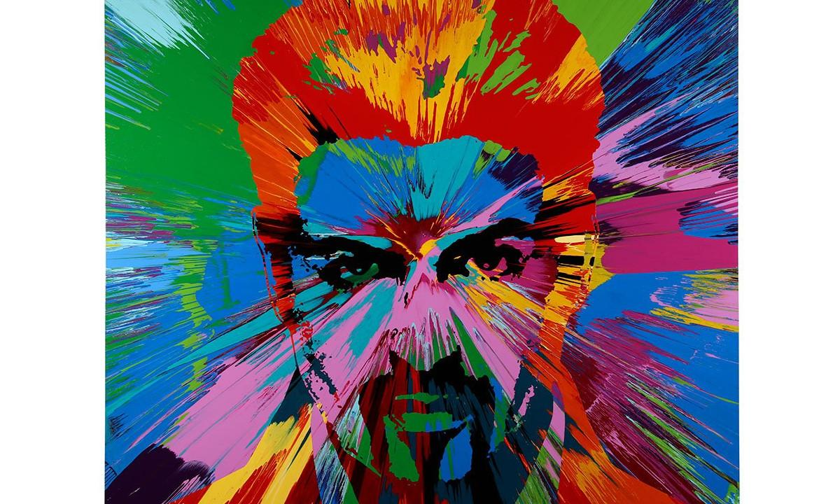 'George Michael' Painting by Damien Hirst Will Be Sold This Friday To Raise Money For HIV/AIDS