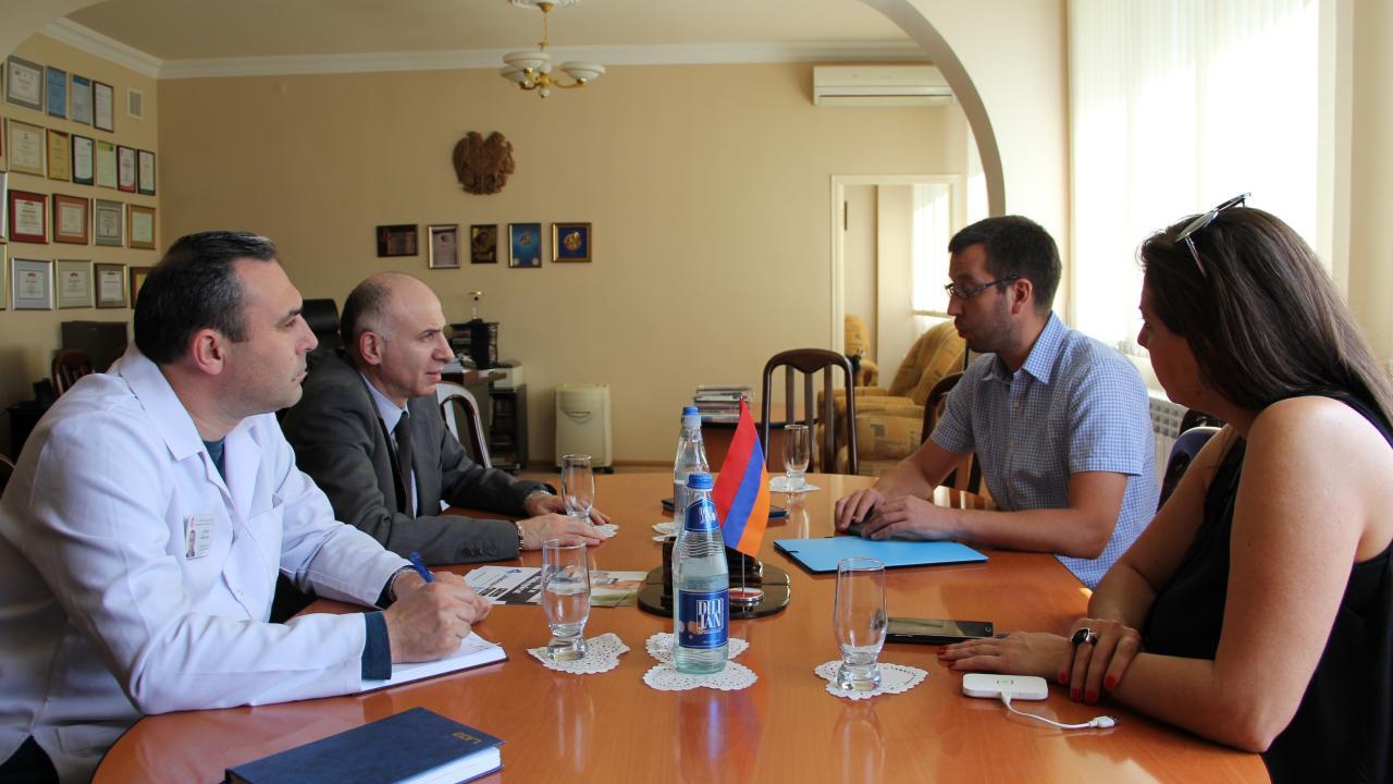 Центр СПИД Республики Армения поддержал идею внедрения Life4me+ в свою систему - изображение 1