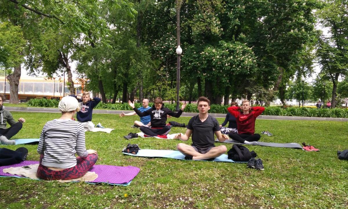 В Парке Горького прошла первая тренировка Life4me+ Sport - изображение 1