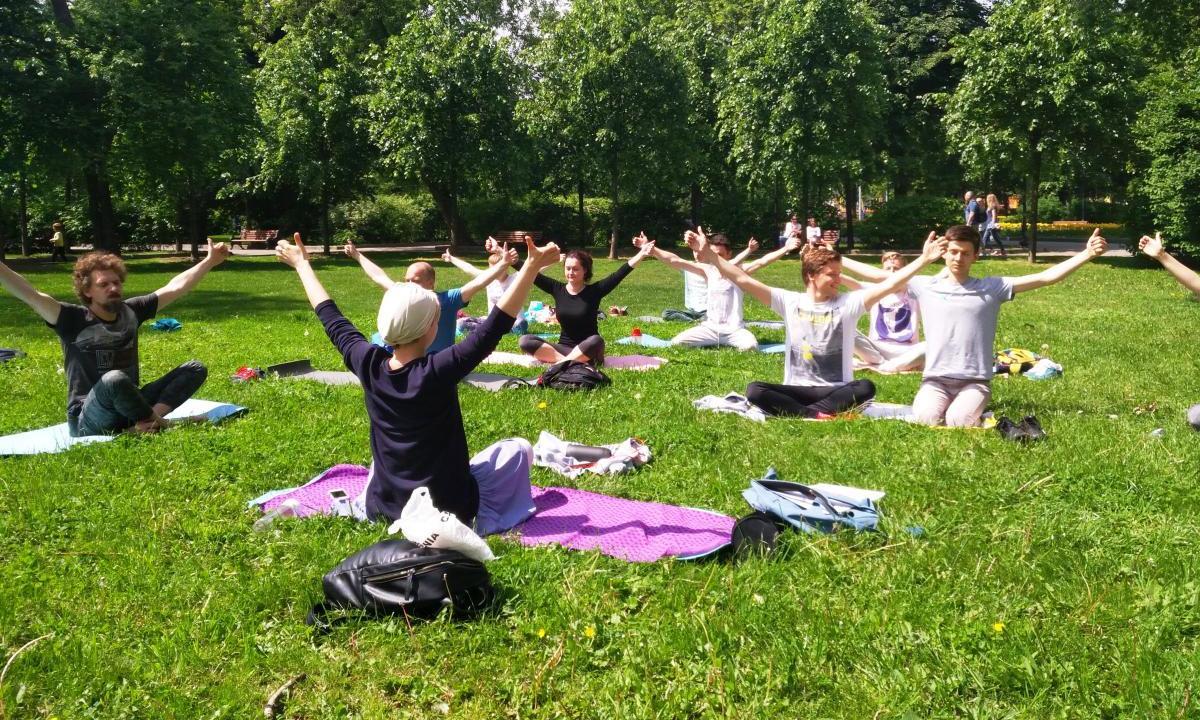 В рамках проекта Life4me+Sport прошло второе занятие по кундалини-йоге - изображение 1