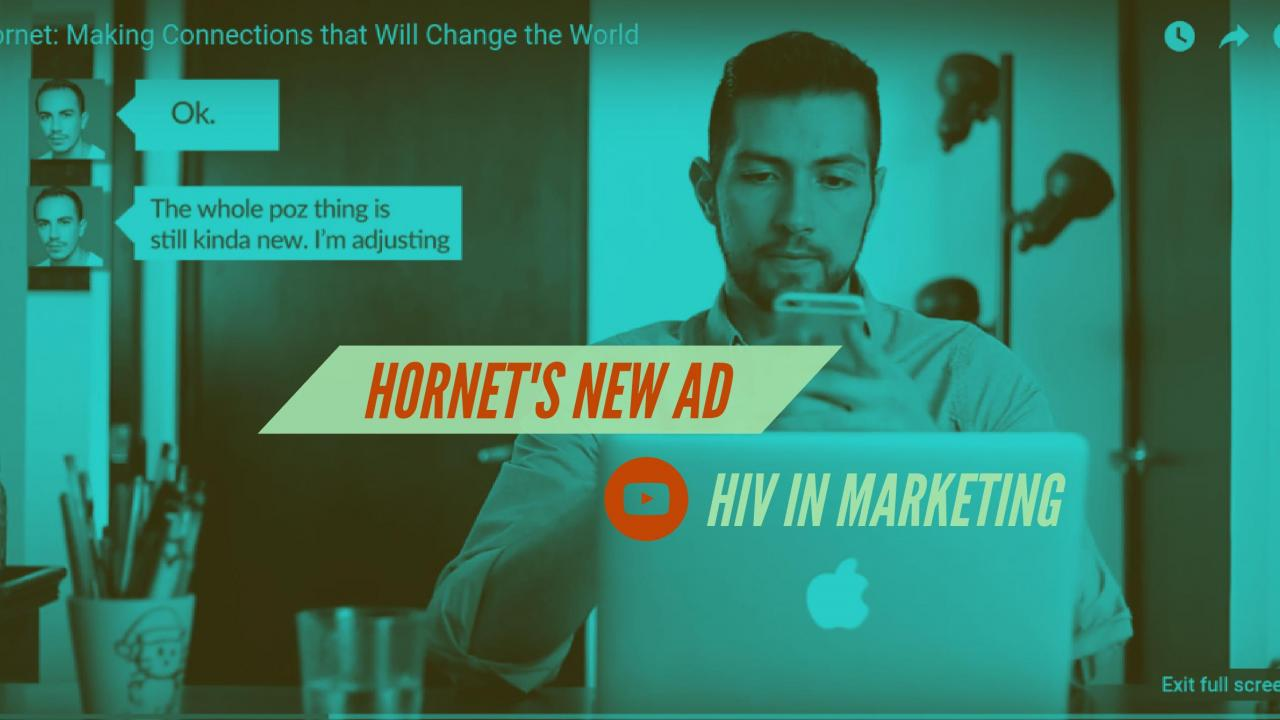 Hornet's New Ad Aiming to LGBTQ People Living With HIV Promotes Inclusive Dating - Bild 1
