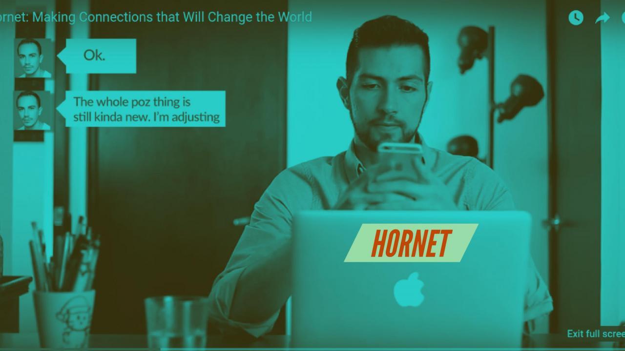 Рекламный ролик Hornet рассказывает о жизни людей с ВИЧ