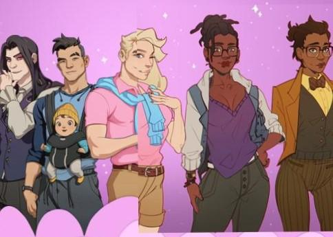 Dream Daddy: New Gay `Dad Dating` Online Game