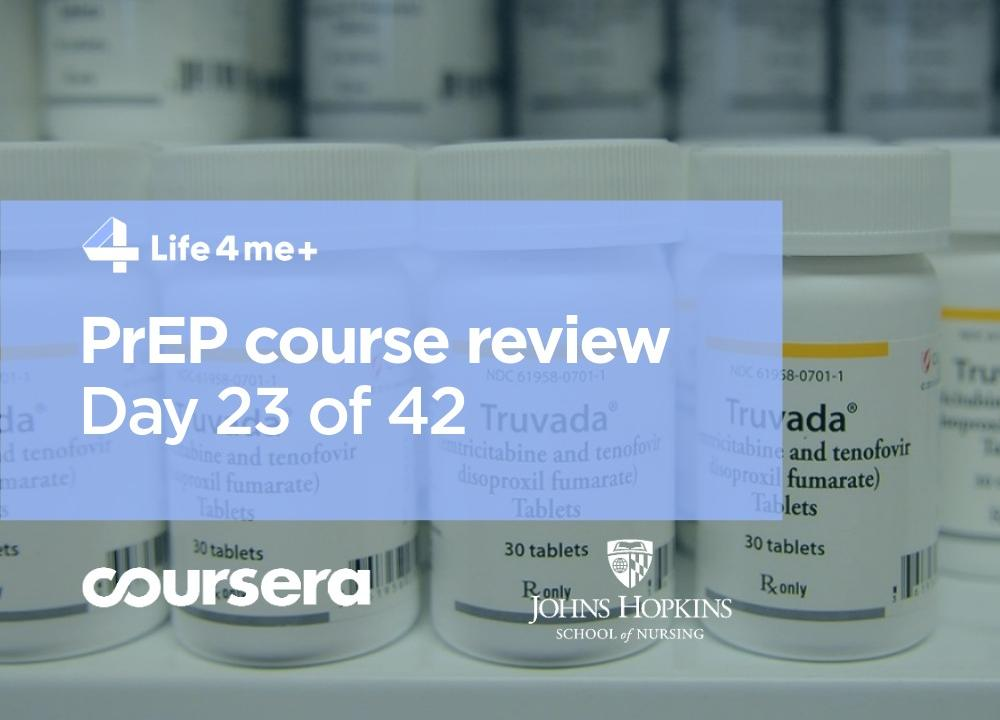 Should your clinic offer PrEP? Course review Day 23 of 42. - Bild 1