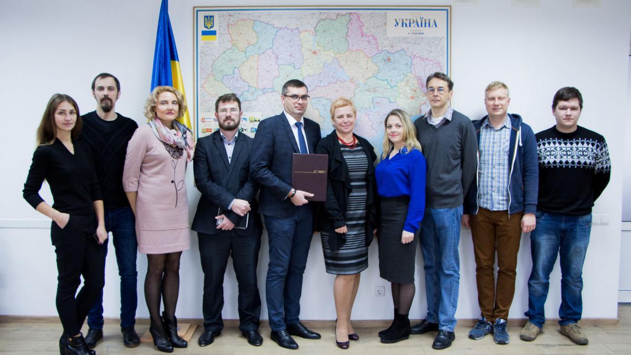 USAID передал Минздраву Украины информационный портал оВИЧ иСПИДе