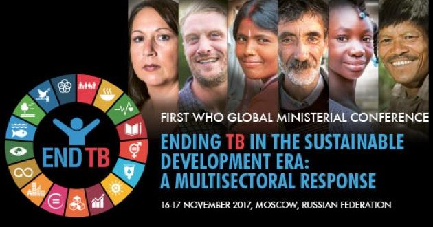 The first WHO Global Ministerial Conference to end tuberculosis takes place in Moscow