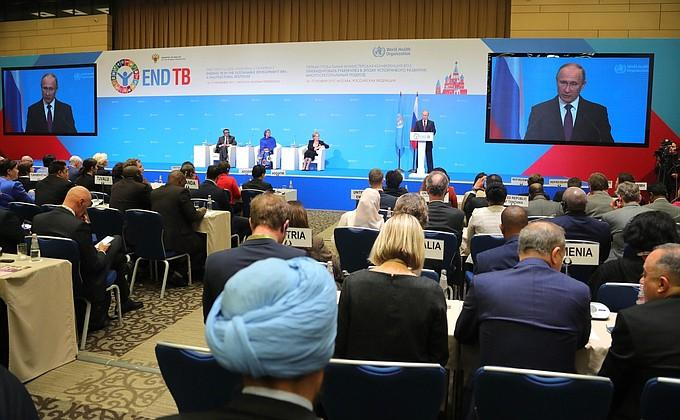 Putin thanked the WHO chief for supporting the fight against tuberculosis in Russia - foto 1