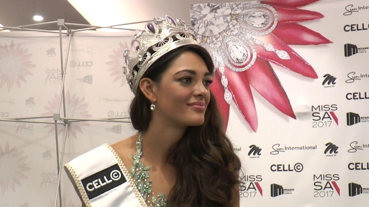 New Miss Universe Will Focus on AIDS in South Africa