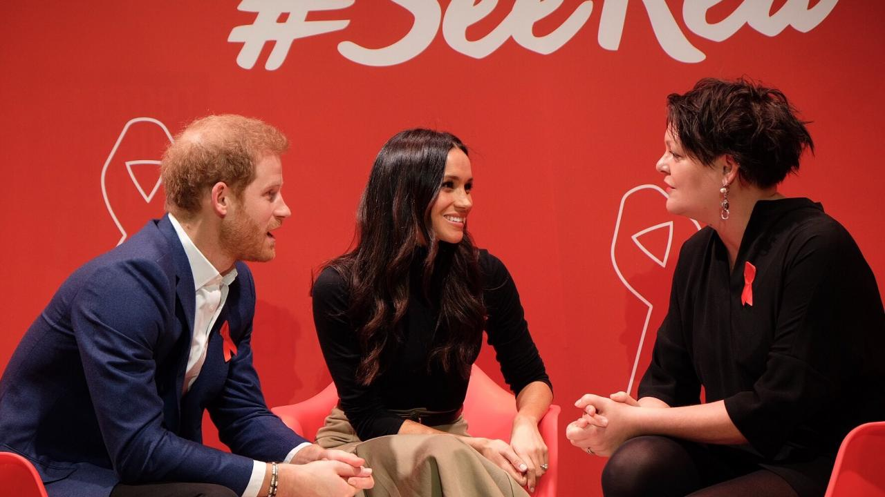 Prince Harry and Meghan Markle choose AIDS charity for first joint official visit - صورة 1