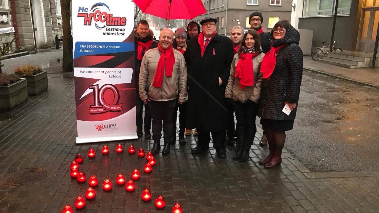 Эстонская сеть людей, живущих с ВИЧ,  призывает уделять особое внимание группам риска - изображение 1