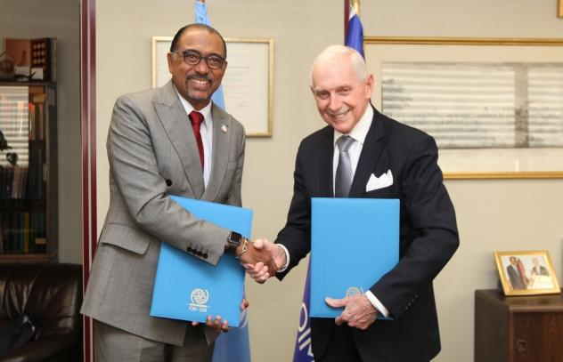 UNAIDS and IOM signed a partnership agreement - صورة 1