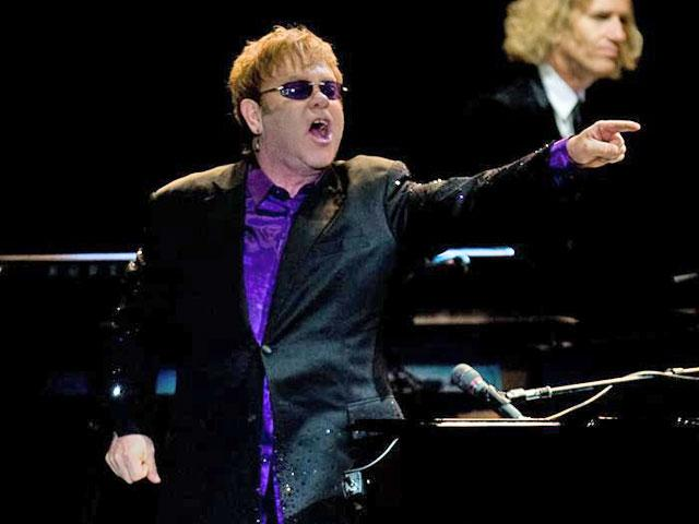 Elton John honored in Davos for raising awareness of human rights