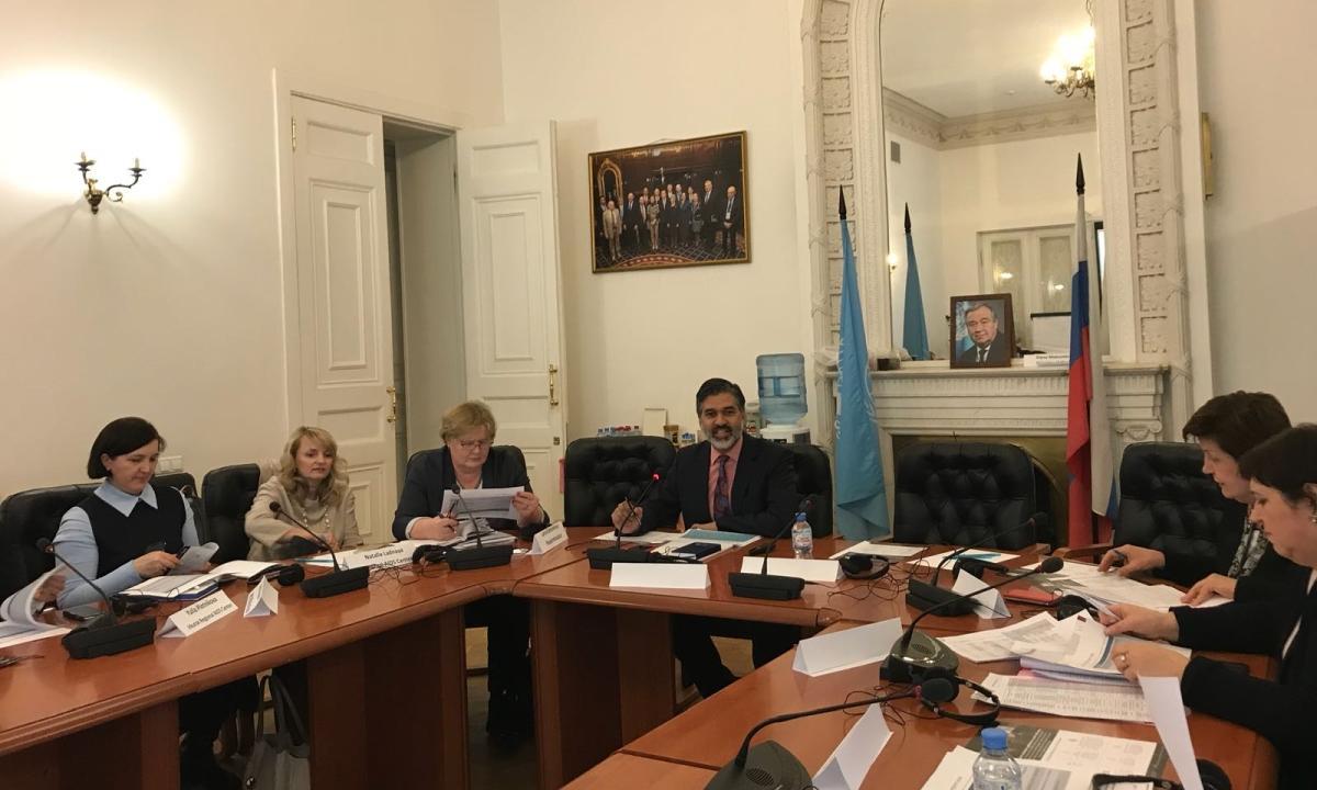 В Москве состоялась встреча по вопросам международных закупок АРВ-препаратов