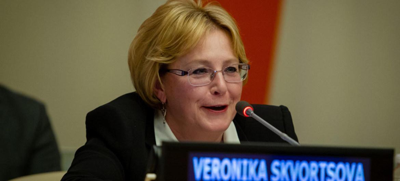 Скворцова стала сопредседательницей Комиссии ВОЗ - изображение 1