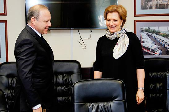 Россия и Армения обсудили вопросы сотрудничества в области противодействия ВИЧ - изображение 1