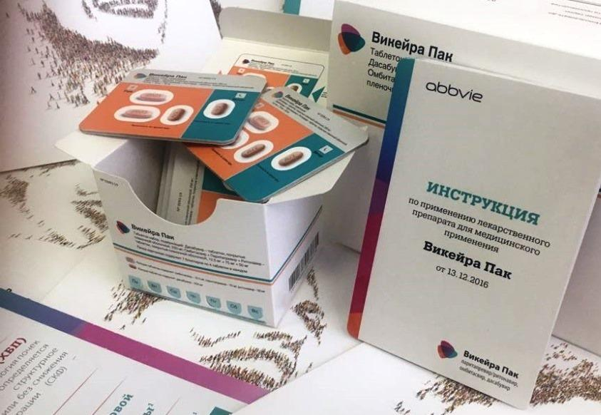 «Р-Фарм» поставит Минздраву препарат «Викейра Пак» на 400 млн рублей - изображение 1