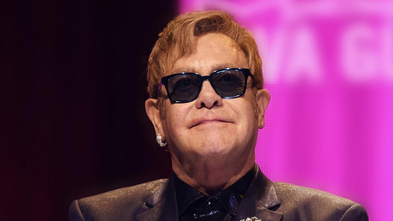 Elton John urged the social network to help end the stigma of HIV/AIDS