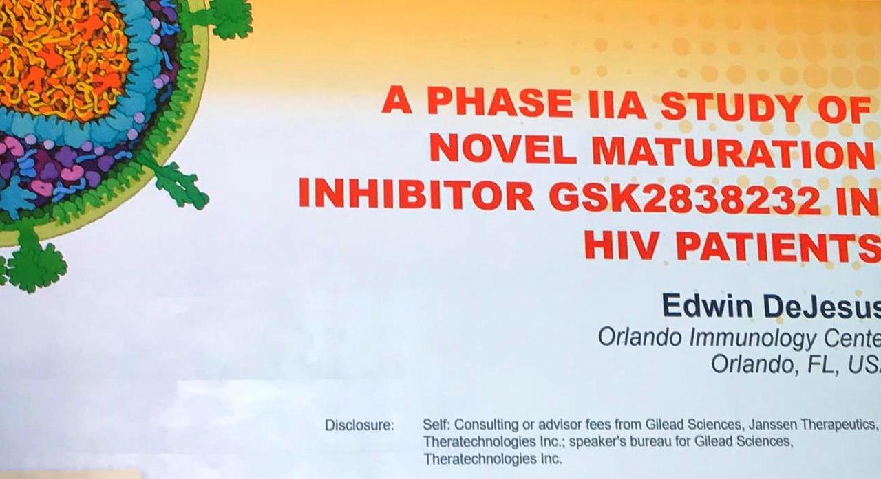 В США представили данные по ингибитору созревания ВИЧ второго поколения