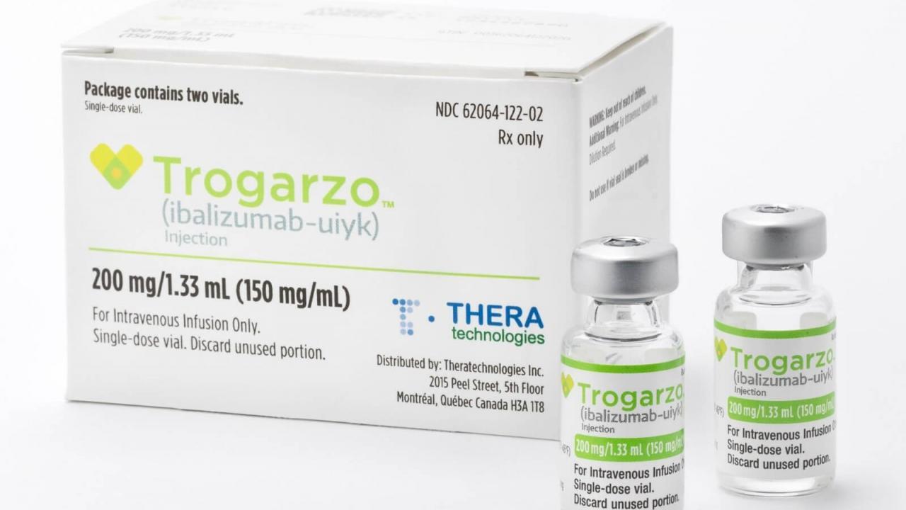 Комитет EMA рекомендовал регулятору одобрить Trogarzo