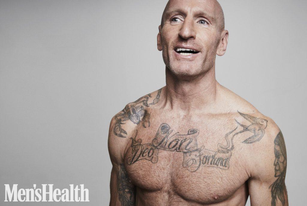 Гарет Томас попал на обложку журнала Men's Health