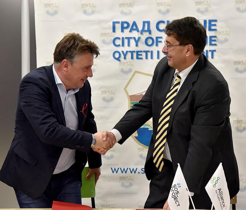 Скопье подписал Парижскую декларацию