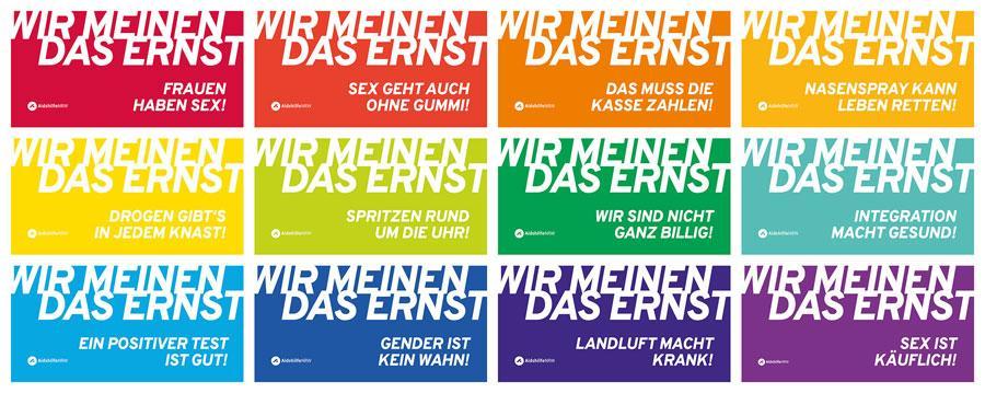 Wir meinen das ernst. Aids-Hilfe NRW startet neue Kampagne - Bild 1