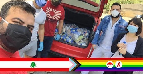 حملة لدعم افراد مجتمع الميم عين و المتعايشين/ات جراء حالات الطوارئ التي تعيشها لبنان