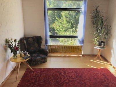 Maison 1 chambre, avec jardin