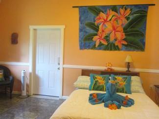 Bungalow 2 chambres, avec jardin