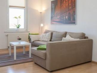 Appartement de 2 pièces, cuisine, salle de bains, balcon, TV HD, Wi-Fi, zoo, juste, même sans carte de crédit
