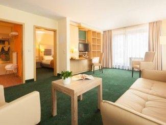 Suite Hotel Leipzig - Suite avec cuisine / salle de bain et 2 chambres séparées