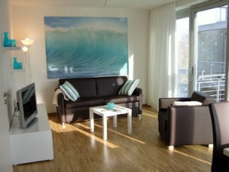 2 pièces moderne et lumineux Appartement avec WiFi au port