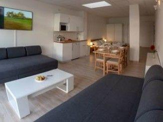 Appartement pour 1 à 4 personnes avec terrasse - parking juste devant la porte -