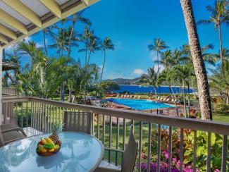 Lae Nani # 124, face à l'océan, vue magnifique, rénovée avec goût