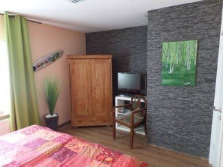 Bed and breakfast avec salle de sport, 1 chambre