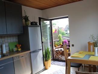 Appartement moderne, 1 chambre, avec jardin