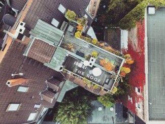 Le penthouse de toit dans le coeur de Karlsruhe