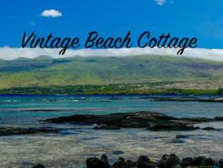 Vintage Beach Cottage 225 $ * * Frais A / C en option, activés à l'arrivée