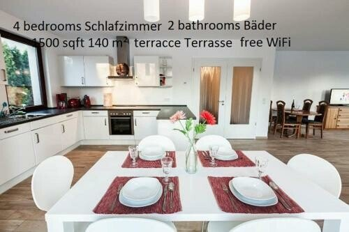 Appartement 4 chambres, avec wifi