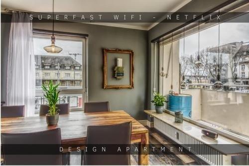 Appartement design, 3 chambres, avec wifi
