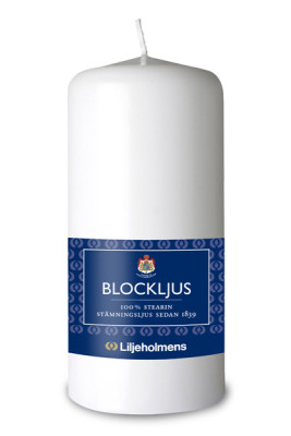 Blockljus 58x130 mm