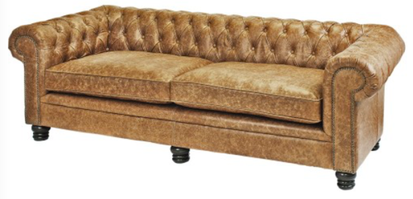Leather Bloomsbury Sofa