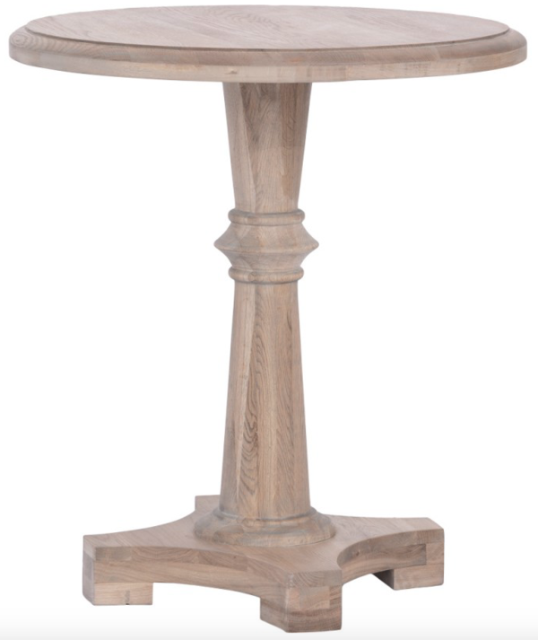Adana Oak Round Table