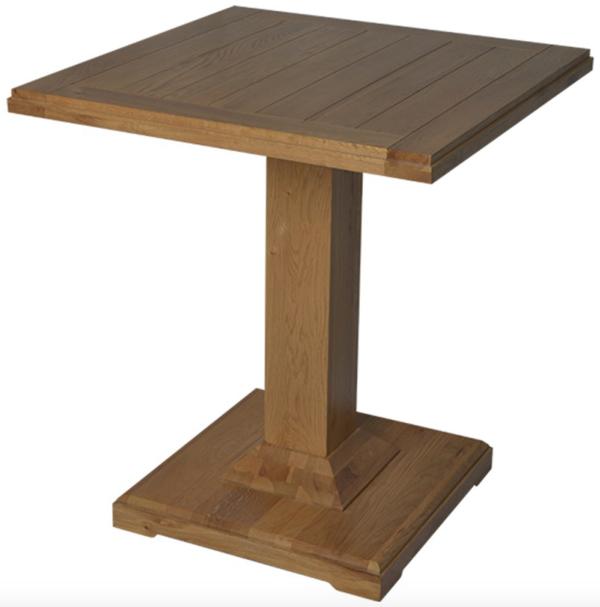 Oak Simon Bar Table