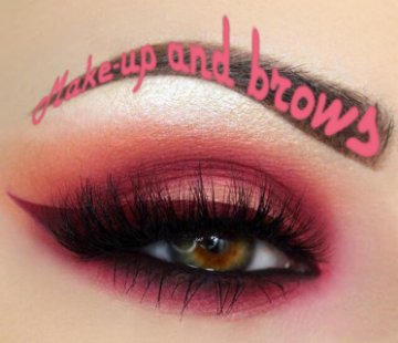 Make-up and brows - фото