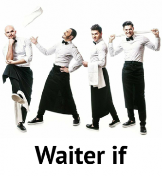 Waiter if - фото