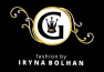 VIP evening dress by Iryna Bolhan fashion group