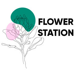 Flower station - фото